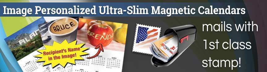 15 Mil Magnet Calendars Image Personalized (VDP)