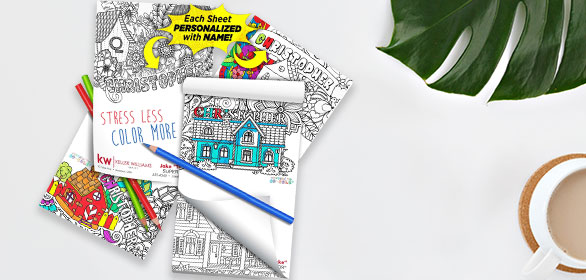 Amazing! Personalized Coloring Pads