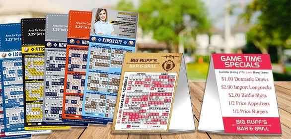 Baseball Schedules