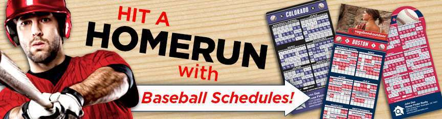 Baseball Schedules