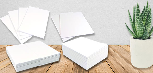 Blank Notepads and Blank Memo Pads