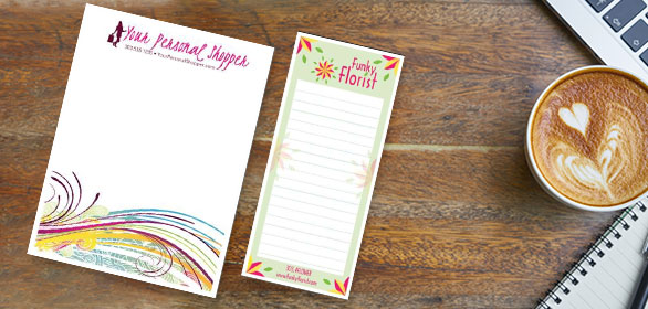 Digital Printed Notepads