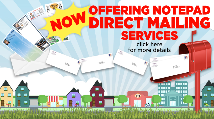 Direct Mail Notepads