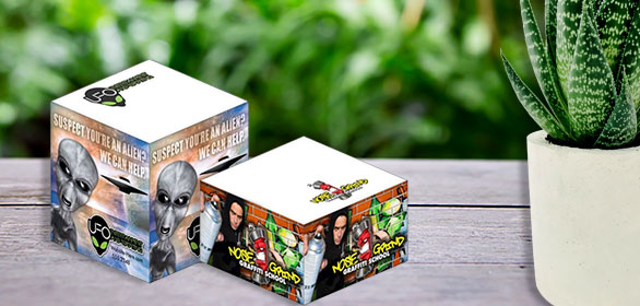Full Color Photo Note Cubes