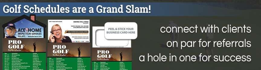 Golf Schedules