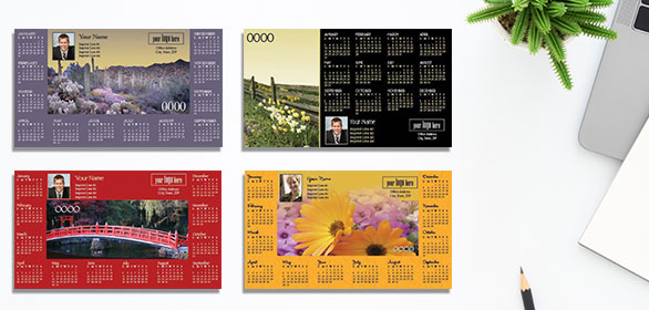 Horizontal Calendars