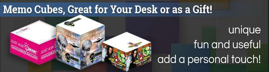Full Color Photo Cubes
