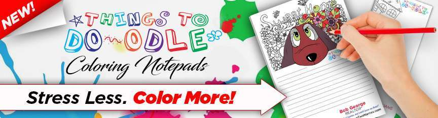 Coloring Notepads