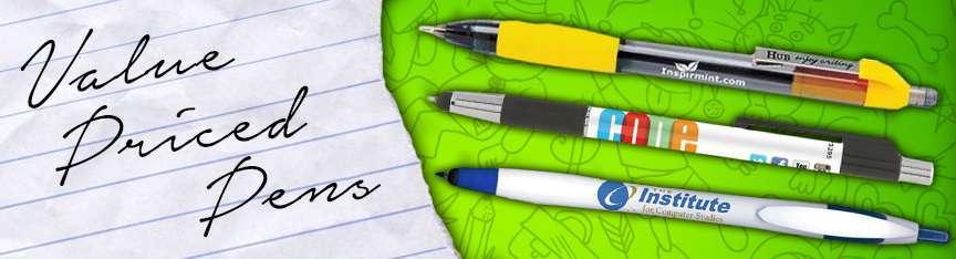 Value Priced Pens