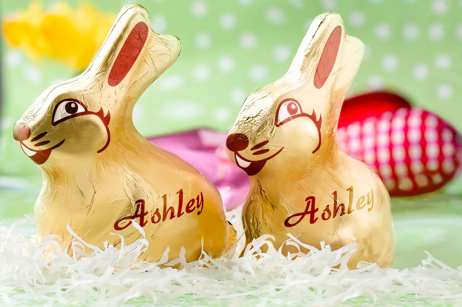 Golden Bunnies - PAM334