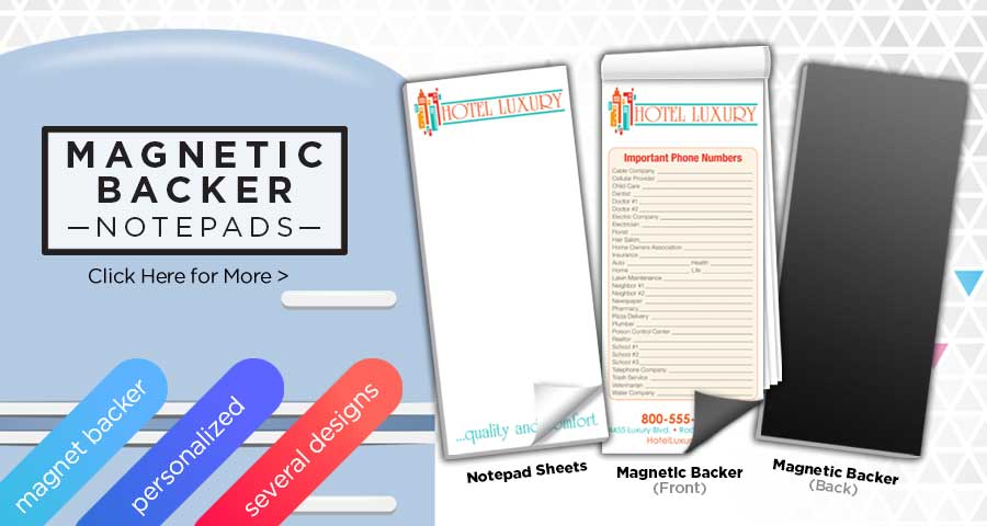 Notepads | Custom Notepads | Promotional Notepads And More Captain